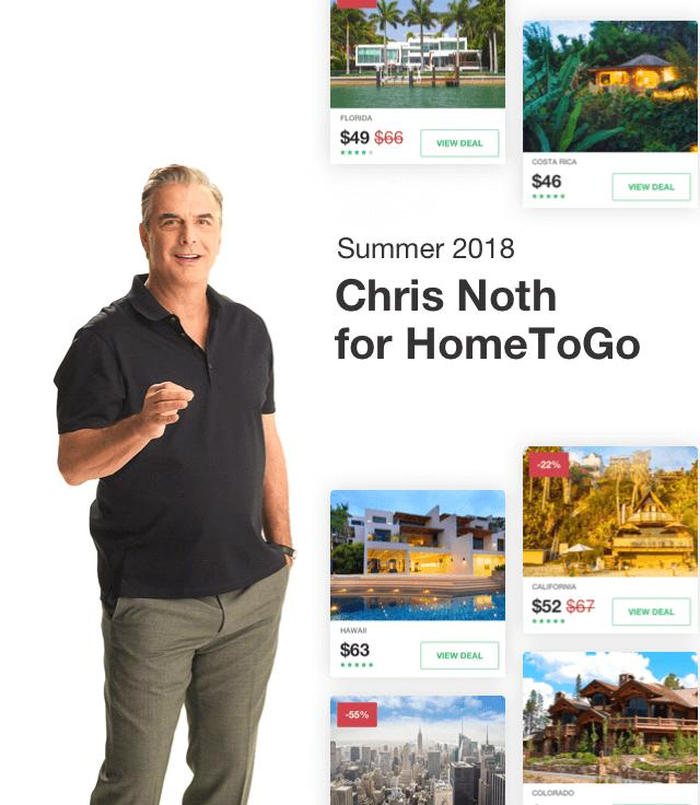 The Making of HomeToGo's TV Ads (Starring Chris Noth