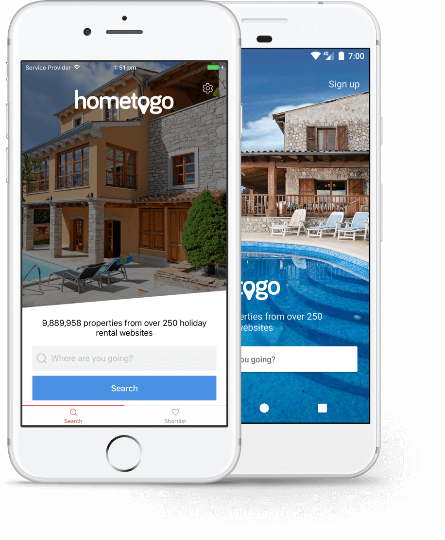 The HomeToGo App | HomeToGo | Affordable holiday homes, cottages